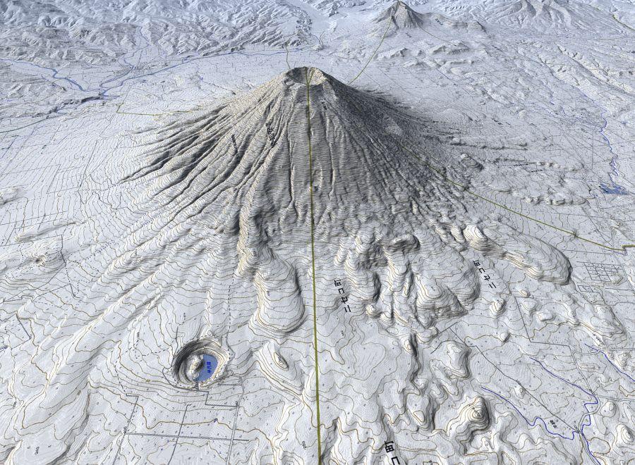 3D風景CGのページ / 3D Landscapes CG : 世界地図 白地図 : 世界地図
